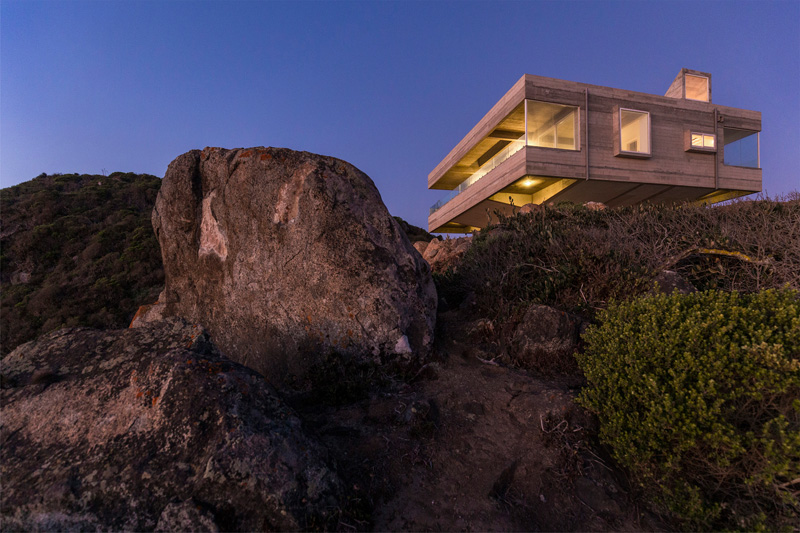 House on top the cliff