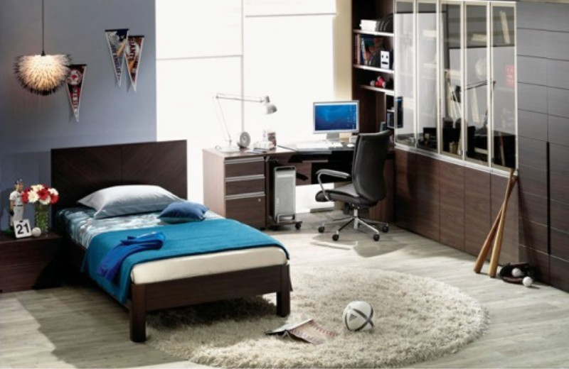 cool teenage boys\' bedroom designs