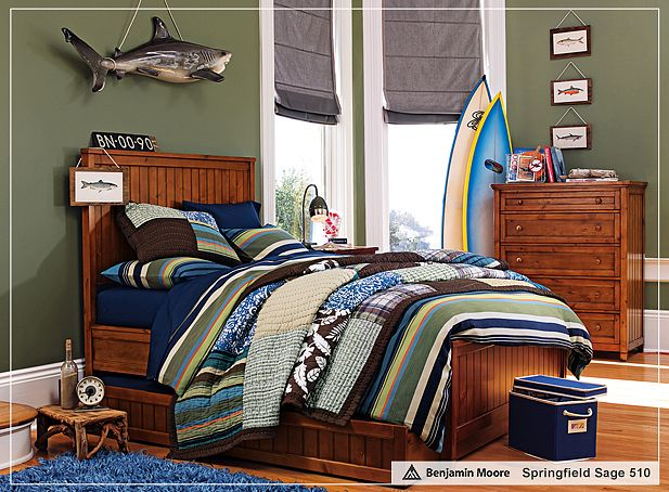 Cool Teenage Boys' Bedroom Designs