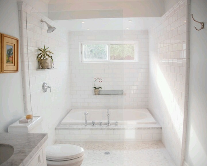 Soaking tub shower combination ideas for Bathroom ideas with tub and shower