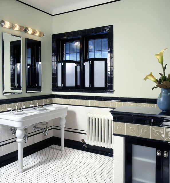 old style double sinks