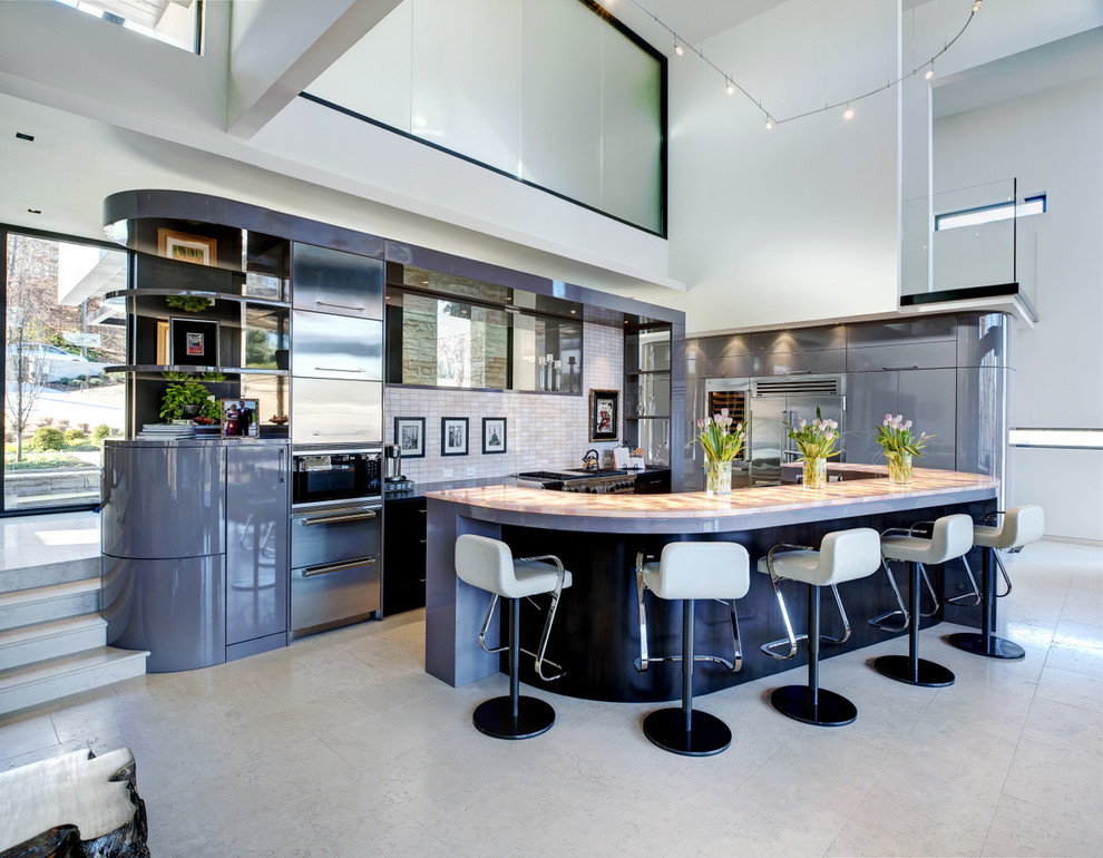 Art deco inspired kitchen design
