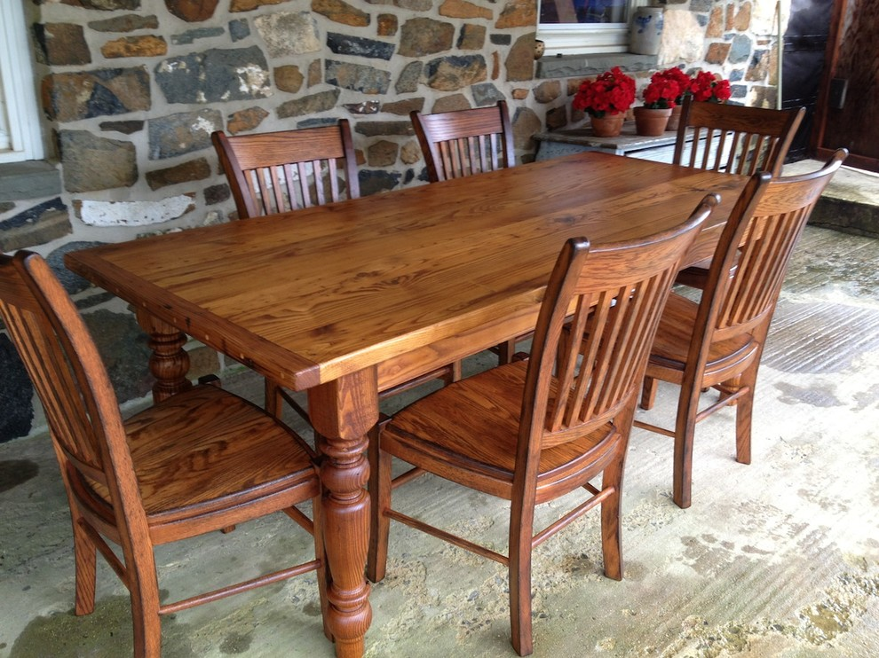 Farmhouse Dining Furniture : Country Dining Table from www.faburous.com size 990 x 742 jpeg 227kB