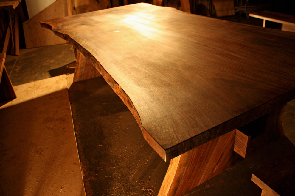 Wonderful walnut dining table