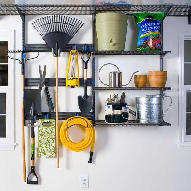 Organized rack