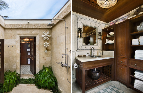 Elegant and cool small shower room for Small pool house with bathroom
