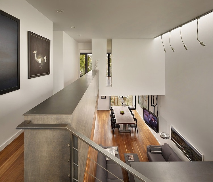 Home interior with a staircase