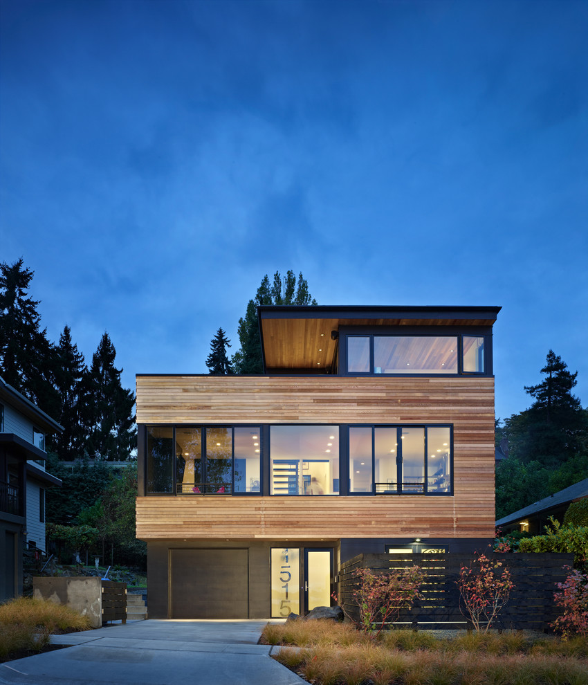 Wooden house exterior