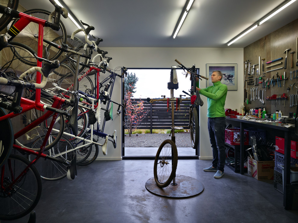 Cycle house garage and shed