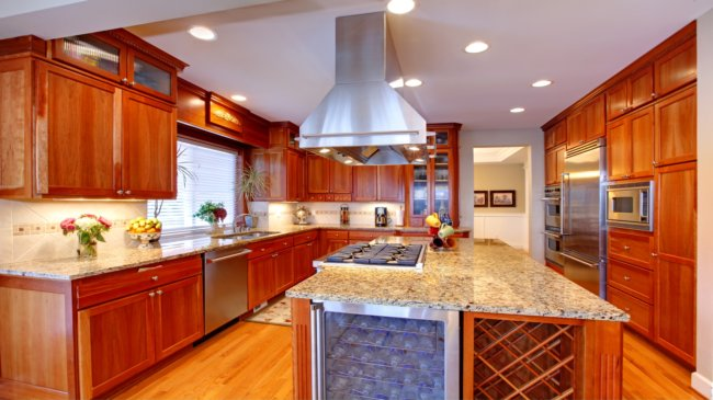 home ideas on easy to clean kitchen design