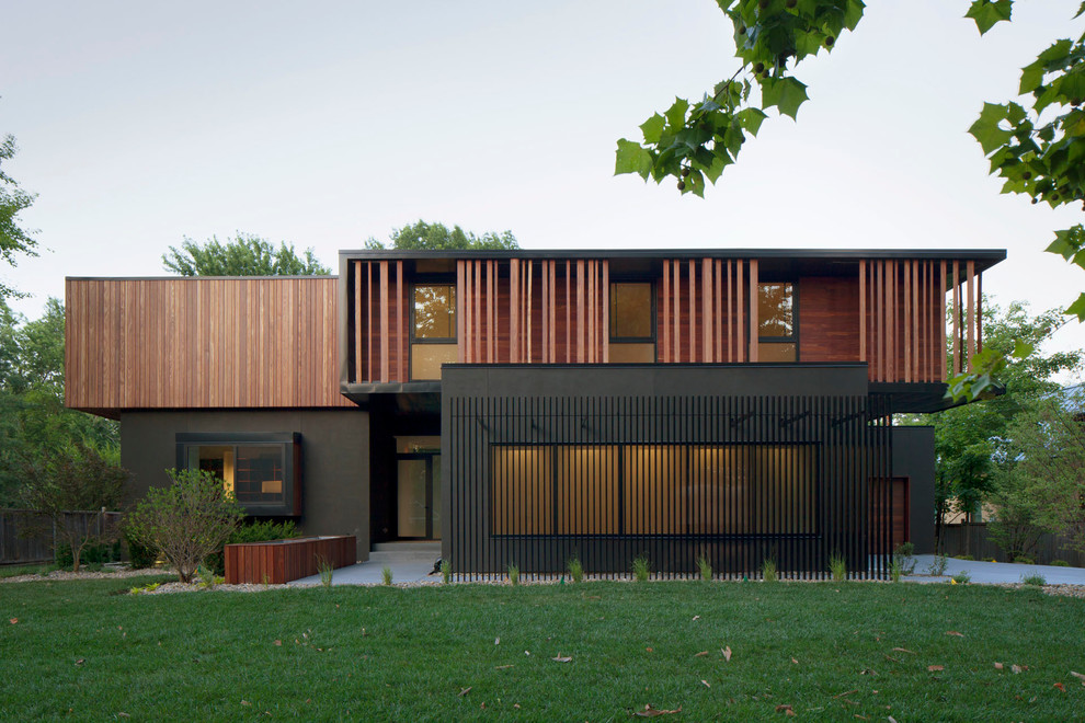 modern house in Kansas City