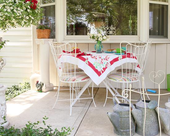 vintage style veranda