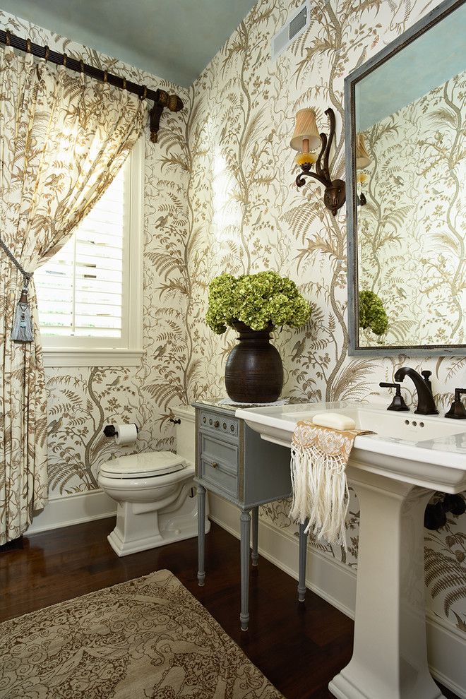 Interior design ideas for powder room storage spaces - Powder room sink ideas ...