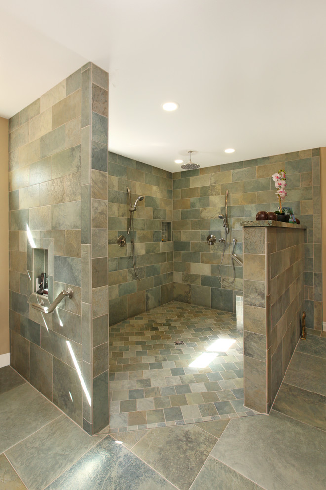 Pool house bathroom ideas - Bath shower room ...