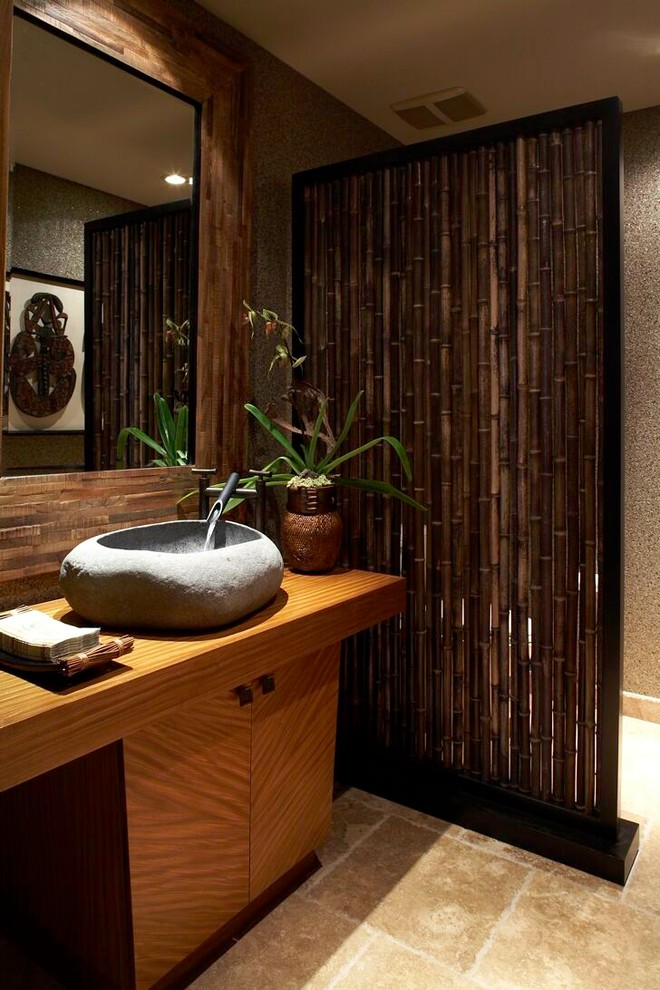 tropical-powder-room