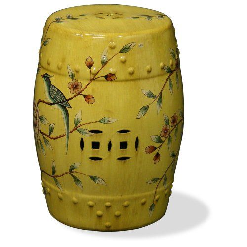 yellow color stool
