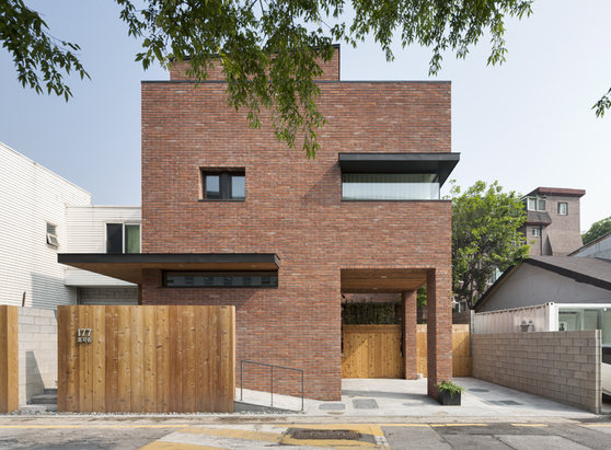 Brick house design