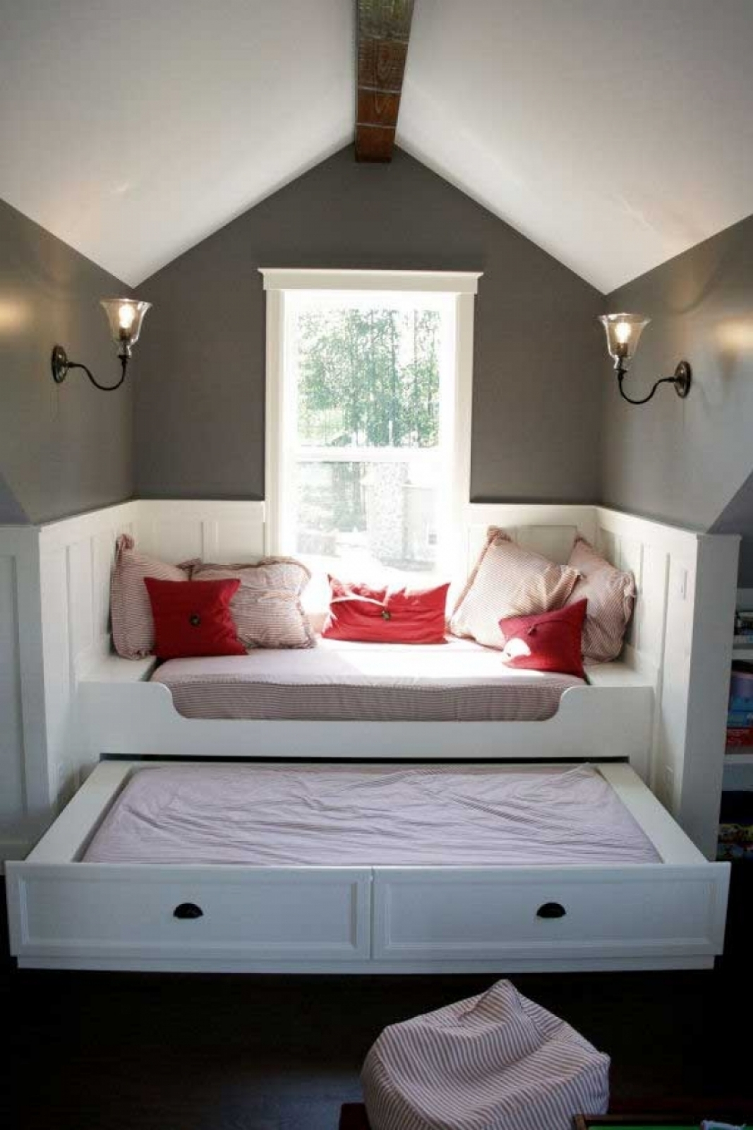 small attic space
