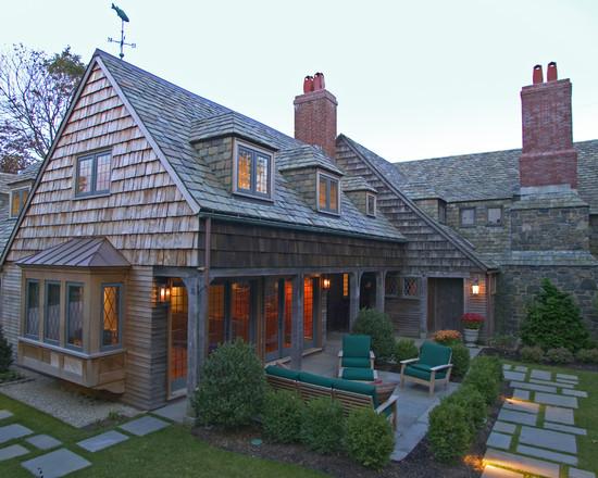 shingled house