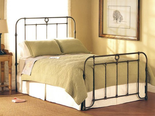 bed design with rails