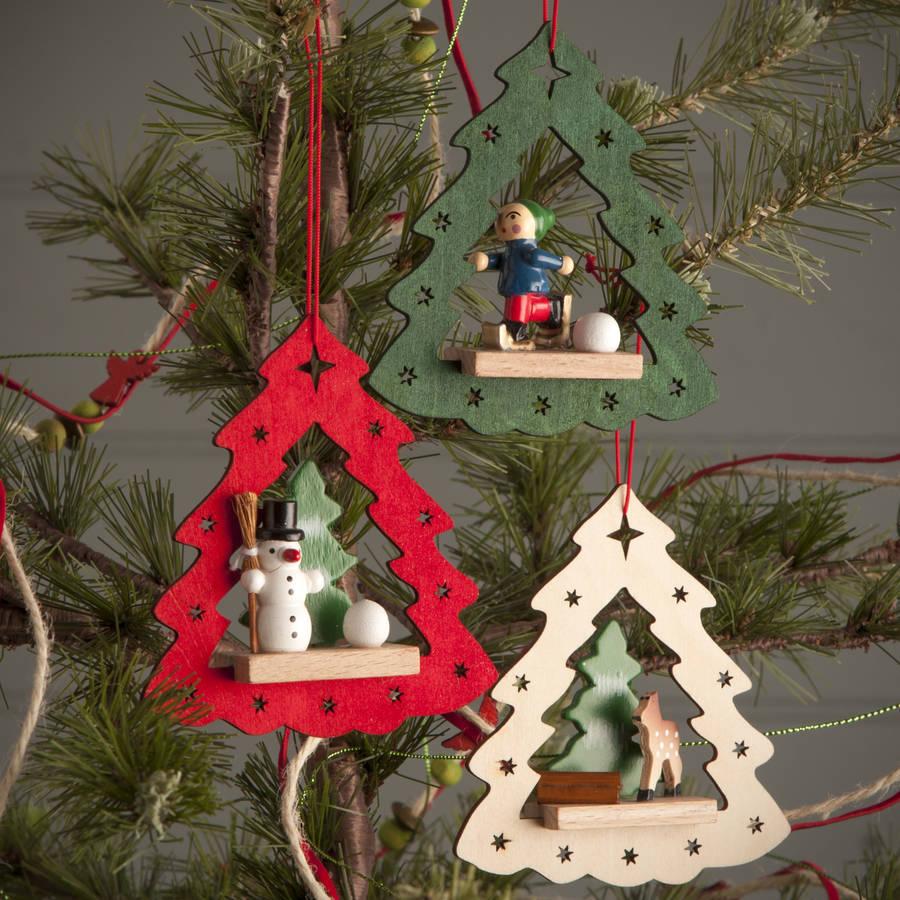 Christmas Scene Tree