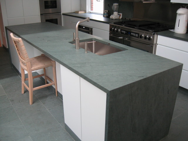 Slate Kitchen Counters
