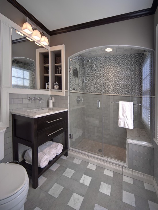 Chic ideas for small bathrooms with shower - Nice images of small bathrooms designs ...