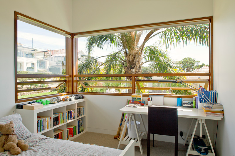kids bedroom with study desk