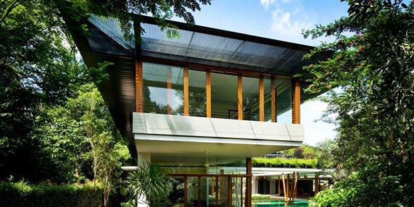 Water Lily House in Singapore by Guz Architects