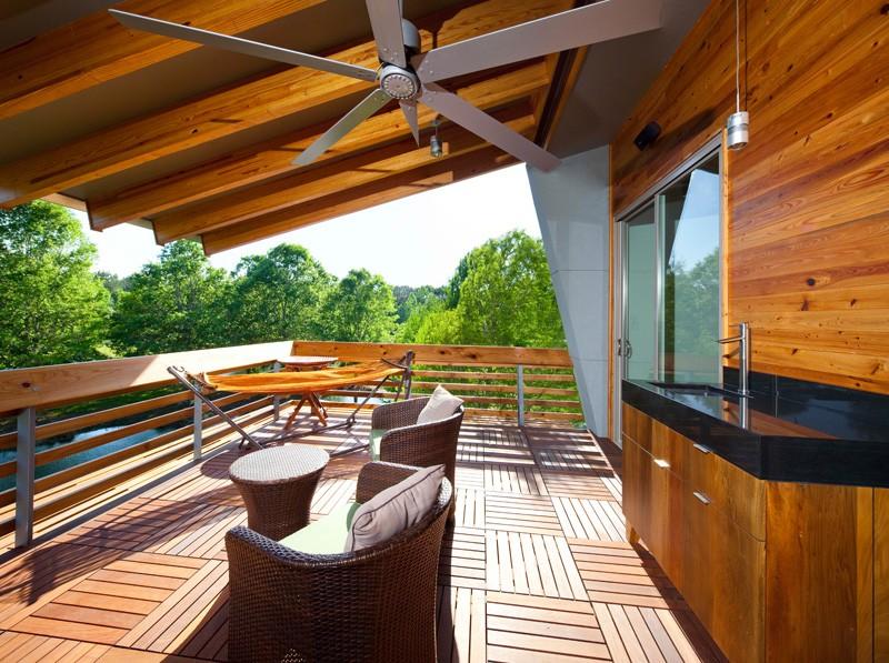 Contemporary terrace design