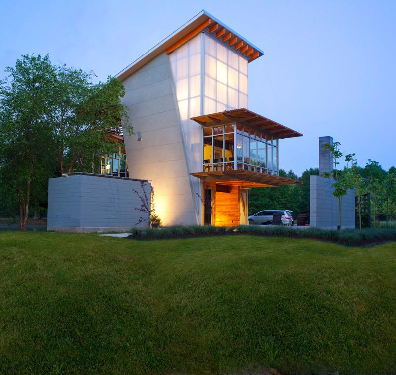 Gorgeous house exeterior