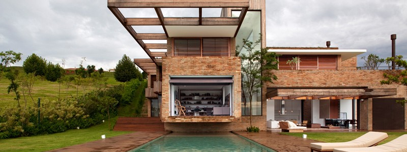 Modern Country House : Casa MP by Studio Arthur Casas