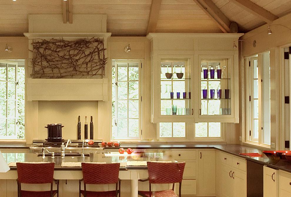cream white kitchen cabinets