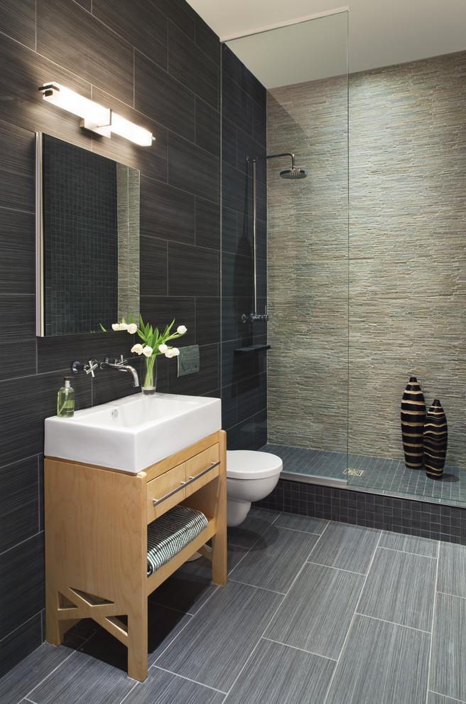 greyish black unpolished tiles