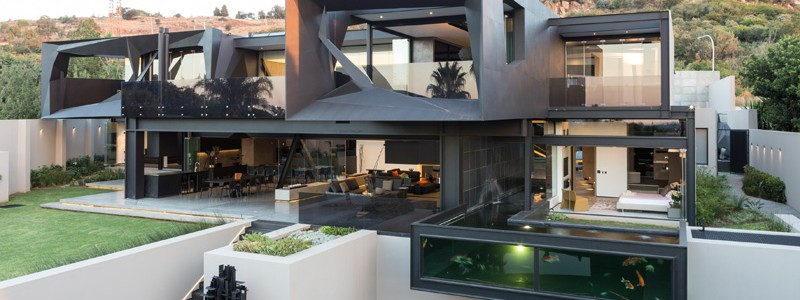 Kloof Road House Design by Nico Van Der Meulen Architects