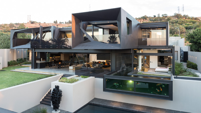 Kloof road house exterior