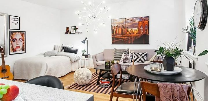 Decorating A Small Studio Apartment On A Budget