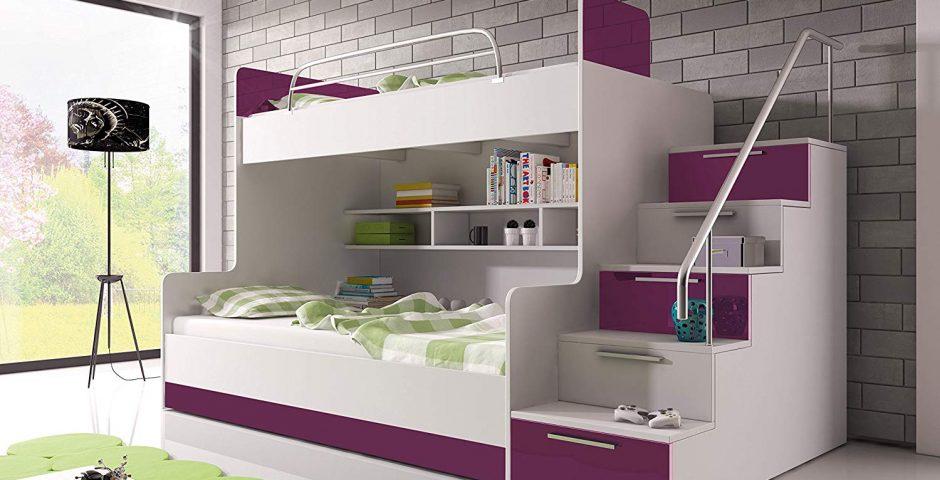 Unique Bunk Beds For Kids Bedroom Interior Design Ideas
