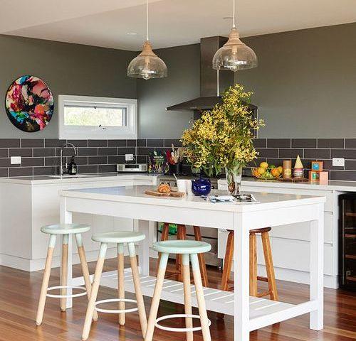 Transitional Kitchen Backsplash Ideas Interior Design Ideas
