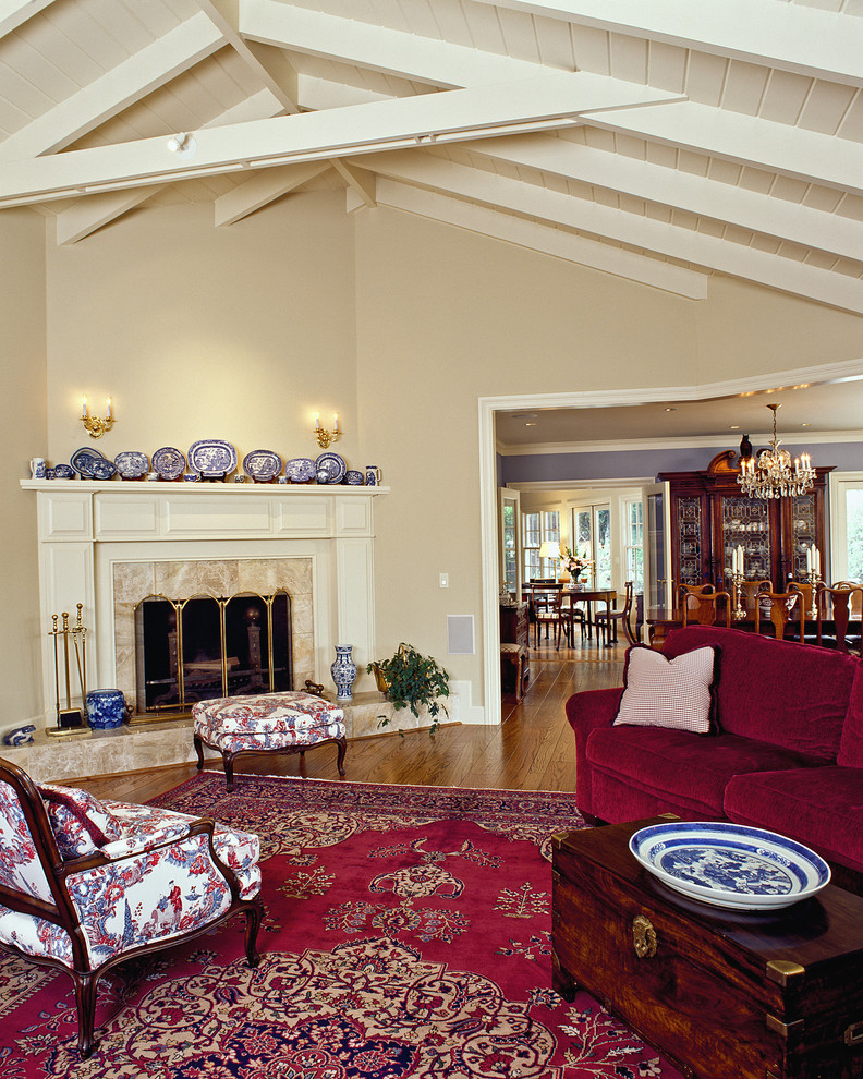 creamy white fireplace