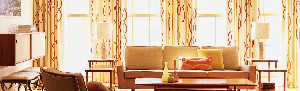 Mid Century Modern Curtains