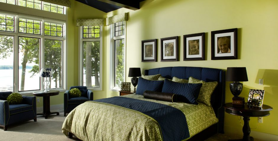 Green and Black Bedroom Ideas - Interior Design Ideas