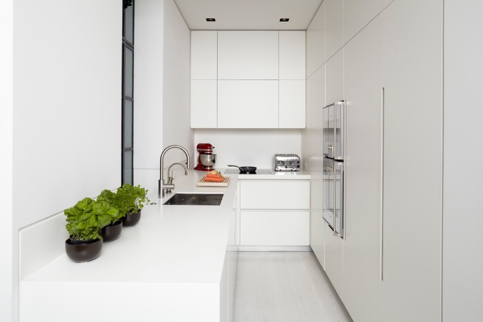 Whole White kitchen design