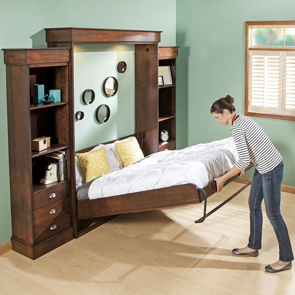 Murphy bed for small spaces