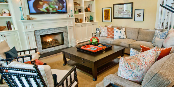 Family Room Furniture Decorating Ideas