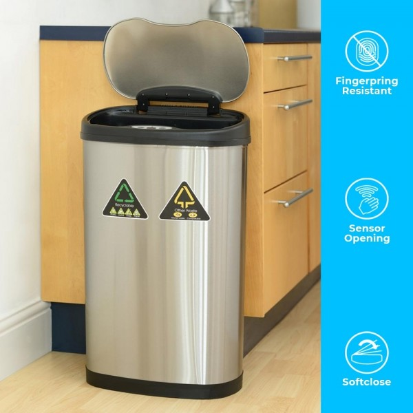 Touch-less Waste Bin