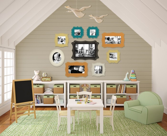 Simple But Stylish Kids Study Room Home Ideas Home Design Photos