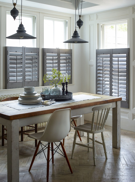 Cafe Style Dining Room Shutters Country Roo