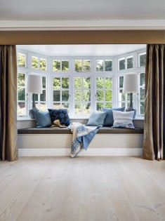 Surrey House Contemporary Living Room London