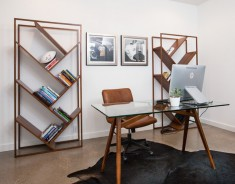The Bachelor Contemporary Home Office
